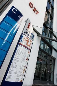 Eingang Medipark, Regensburg