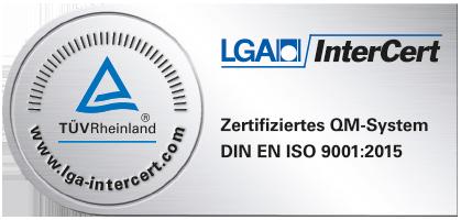 LGA-Zertifikat